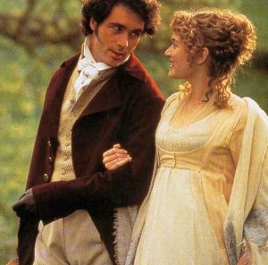 marianne et John Willoughby. film Raison et sentiments. Jane Austen