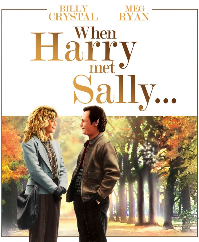 affiche originale When Harry met Sally