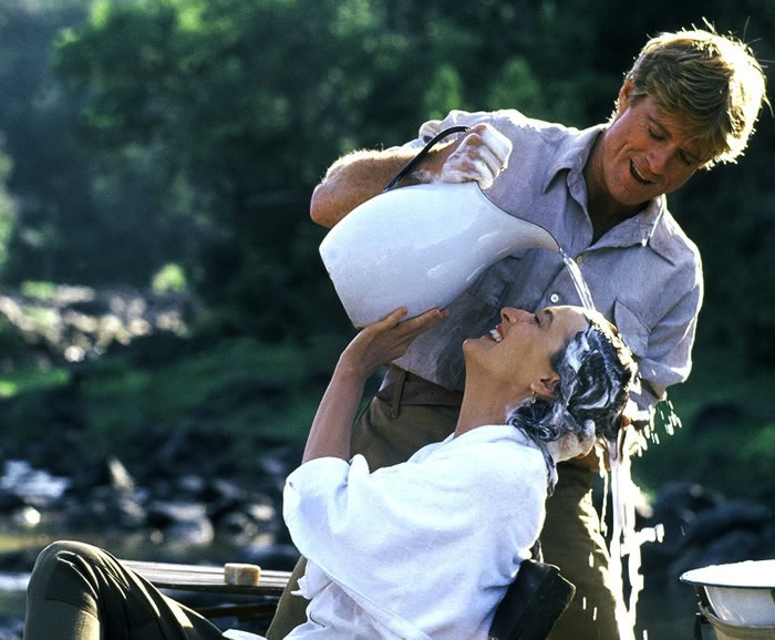 Out of Africa film d'amour